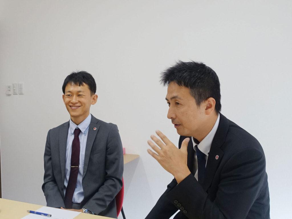 嶋津副社長、廣井さん