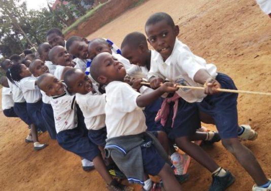 ルワンダ運動会